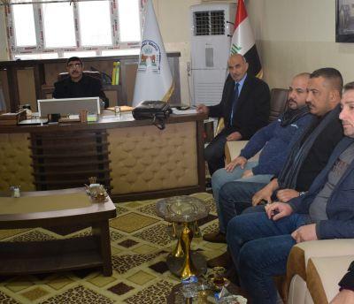 استقبلت جامعة تلعفر اللجنة المكلفة من وزارة التخطيط  يوم