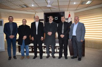 التعاون بين جامعة الموصل وجامعة تلعفر لأعمار ابنية جامعة تلعفر